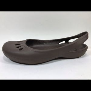 Crocs Slingback Ballet Flats 8